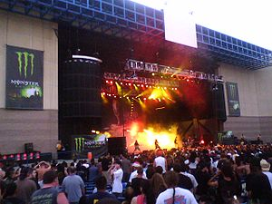 San Manuel Band of Mission Indians - Lamb of God playing at Ozzfest at the San Manuel Amphitheater in Devore, 2007
