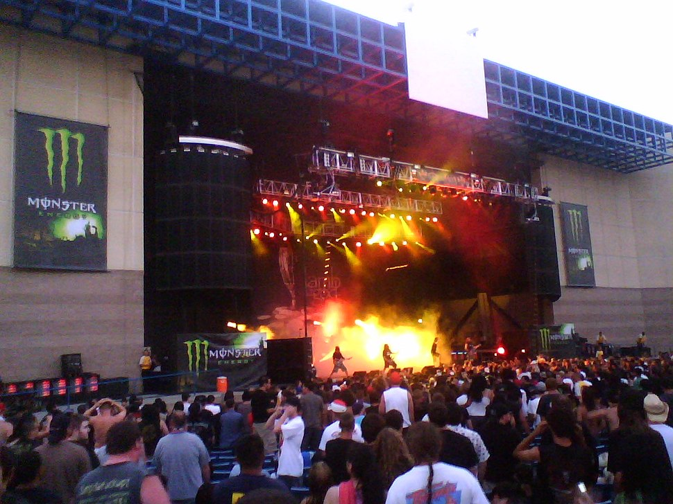 Lamb of God at Ozzfest 2007 2