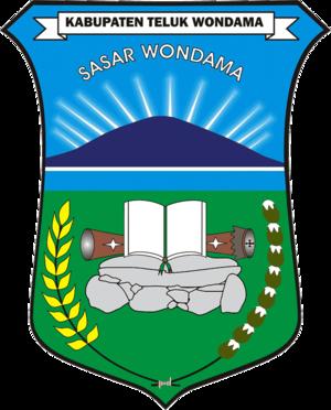 Teluk Wondama Regency - Image: Lambang Kabupaten Teluk Wondama
