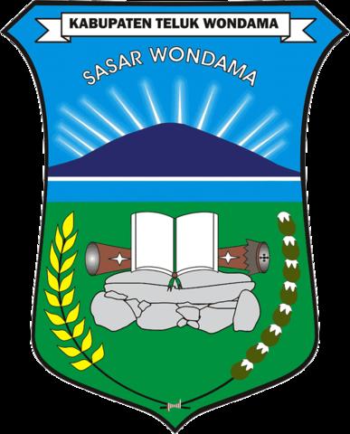 Berkas Lambang Kabupaten Teluk Wondama Png Wikipedia Bahasa Indonesia Ensiklopedia Bebas
