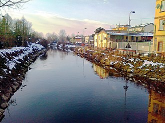 Zone 4 of Milan - Lambro river in Ponte Lambro and Linate