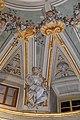 Lamporecchio, villa rospigliosi, interno, salone di apollo, con affreschi attr. a ludovico gemignani, 1680-90 ca., segni zodiacali, gemelli 01.jpg