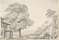 Landscape with a Tree in front of a Villa MET DP803801.jpg