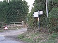Lane junction near Berrington. - geograph.org.uk - 711789.jpg