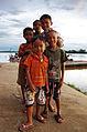 Laotian children posing in front of the Mekong.jpg