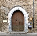 Laroque Église Saint-Félix portal.jpg