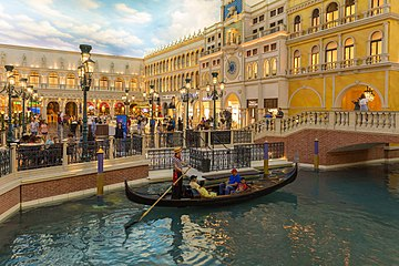 St Mark S Square At The Grand C Pes Is Surrounded By Restaurants And It Also Site Of Live Costumed Shows