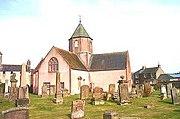 Lauder's Church of Scotland kirk in 2001