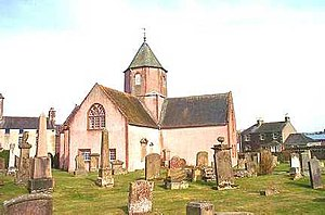 Lauder - Lauder's Church of Scotland kirk in 2001