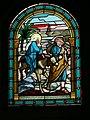 Laukžemės bažnyčios vitražas Bėgimas iš Egipto 2006.JPG