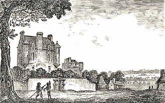 Archibald Napier (landowner) - Lauriston Castle in 1775.