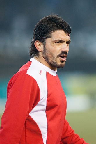Gennaro Gattuso - Gattuso with Sion in 2013.