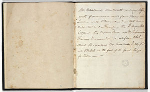William Lawson (explorer) - Image: Lawson's Journal