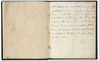 William Lawson (explorer) - Image: Lawson's Journal