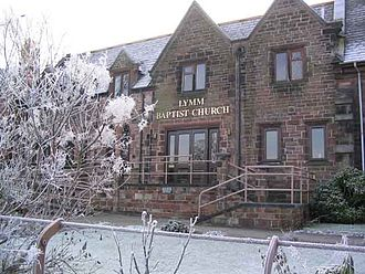 Lymm Baptist Church -  Lymm Baptist Church in snow