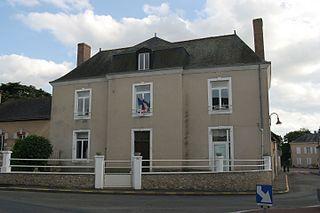 Le Breil-sur-Mérize Commune in Pays de la Loire, France