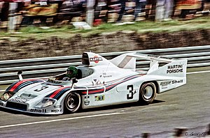 1976 World Sportscar Championship - Porsche won the championship with its 908/3 and 936 models. A 936 in 1977 livery is pictured above.