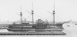 French ironclad Redoutable - Image: Le Redoutable (1889)