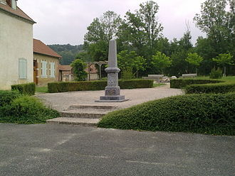 Anoye - The War Memorial.