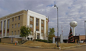 Leake County Courthouse in Carthage