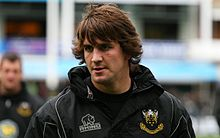 Description de l'image  Lee Dickson - Northampton Saints vs Sale October 2009.jpg.