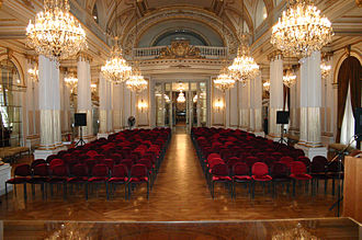 Palacio de la Legislatura de la Ciudad de Buenos Aires - Image: Legislatura de la Ciudad de Buenos Aires Salón Dorado (2)