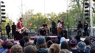 Lemuria (American band) - Image: Lemuria Riot Fest 2014