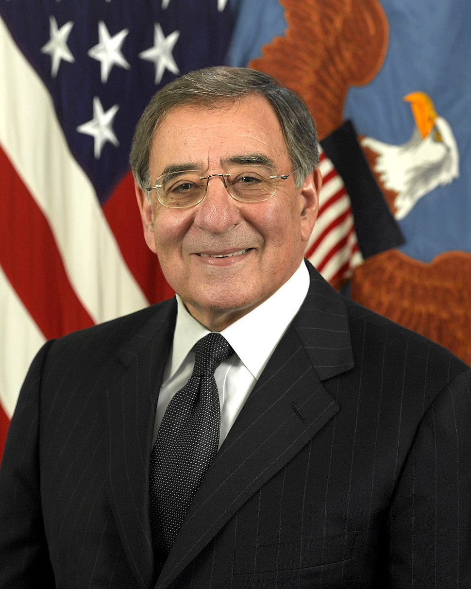 Leon Panetta, official DoD photo portrait, 2011