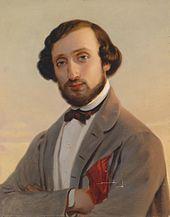 Ludwig August Frankl, Gemälde von Leopold Pollack (Quelle: Wikimedia)