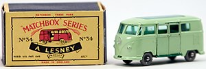 Lesney Products - A Matchbox Volkswagen Camper Van