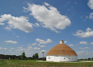 Lewis Round Barn - Adams County Fairgronds Mendon, IL.jpg