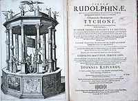 Rudolphine Tables cover