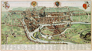 Liège - Liège in 1627