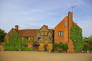 Cox Green, Berkshire - Image: Lillibrooke Manor geograph.org.uk 1899392