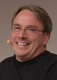 LinuxCon Europe Linus Torvalds 03 (cropped)