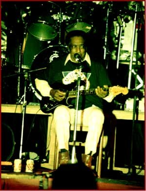 R. L. Burnside - Burnside at the Liri Blues Festival, Italy, in 1992