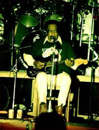 R. L. Burnside - Burnside at the Liri Blues Festival, Italy, in 1992