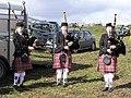 Lisbeg Pipe Band members - geograph.org.uk - 1225009.jpg