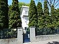 Listed Villa and thujas. - 4B Cserje Street, 2016 Budapest.jpg