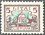 Lithuania 1923 MiNr 0195 B002.jpg