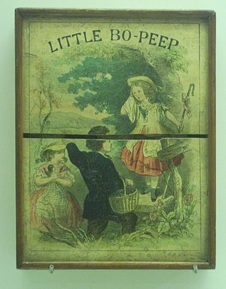 Little Bo-Peep - 19th century educational game