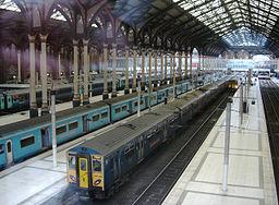 Liverpool Street Station Bahnhofshalle