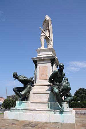 Livorno Quattro mori monument 02