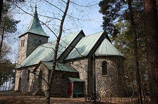 Ljan Church Church in Oslo, Norway
