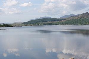 Llyn Trawsfynydd - Looking south