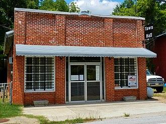 Loachapoka, Alabama - Image: Loachapoka, AL Town Hall