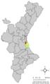 Localització de Sollana respecte del País Valencià.png