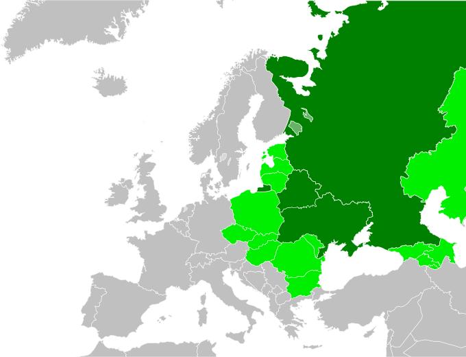 LocationEasternEurope