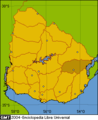 Location department Treinta y Tres(Uruguay).png