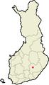 Location of Haukivuori in Finland.png